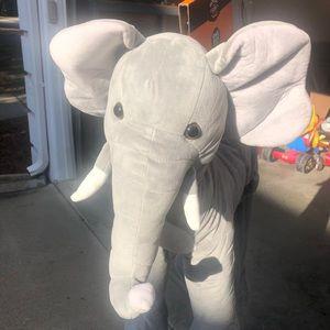Plush Elephant Costume Brand New
